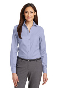 Red House® Non-Iron Diamond Dobby Shirt - Ladies