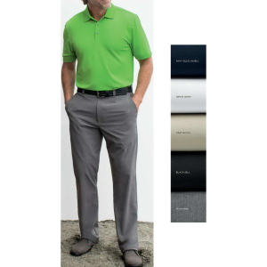 Cutter & Buck Men's DryTec™ Bainbridge Flat Front Pant