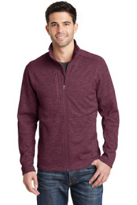 Port Authority® Digi Stripe Fleece Jacket - Men's