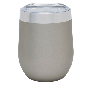 Brisbane 12 oz. Stainless Steel Wine Tumbler