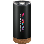 Valhalla Copper Vacuum Tumbler with Cork 16 Oz