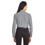 Devon & Jones CrownLux Performance™ Tonal Mini Check Shirt - Ladies'