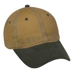 Waxed Cotton Canvas Unstructured Cap